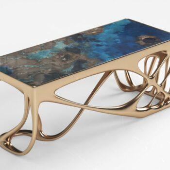 Жидкий металл Metallhaut для покрытия мебели