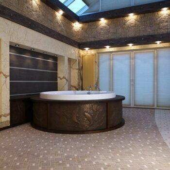 Покрытие жидким металлом ванной