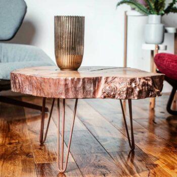 Покрытие жидким металлом мебели