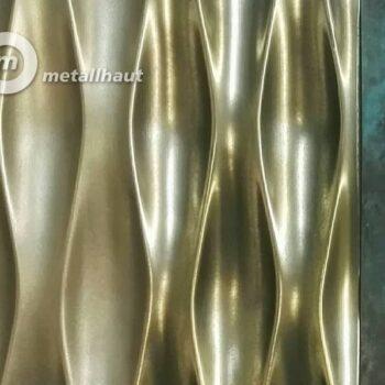 Покрытие жидким металлом панелей