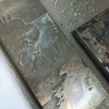 Жидкий металл бронза патинорованная
