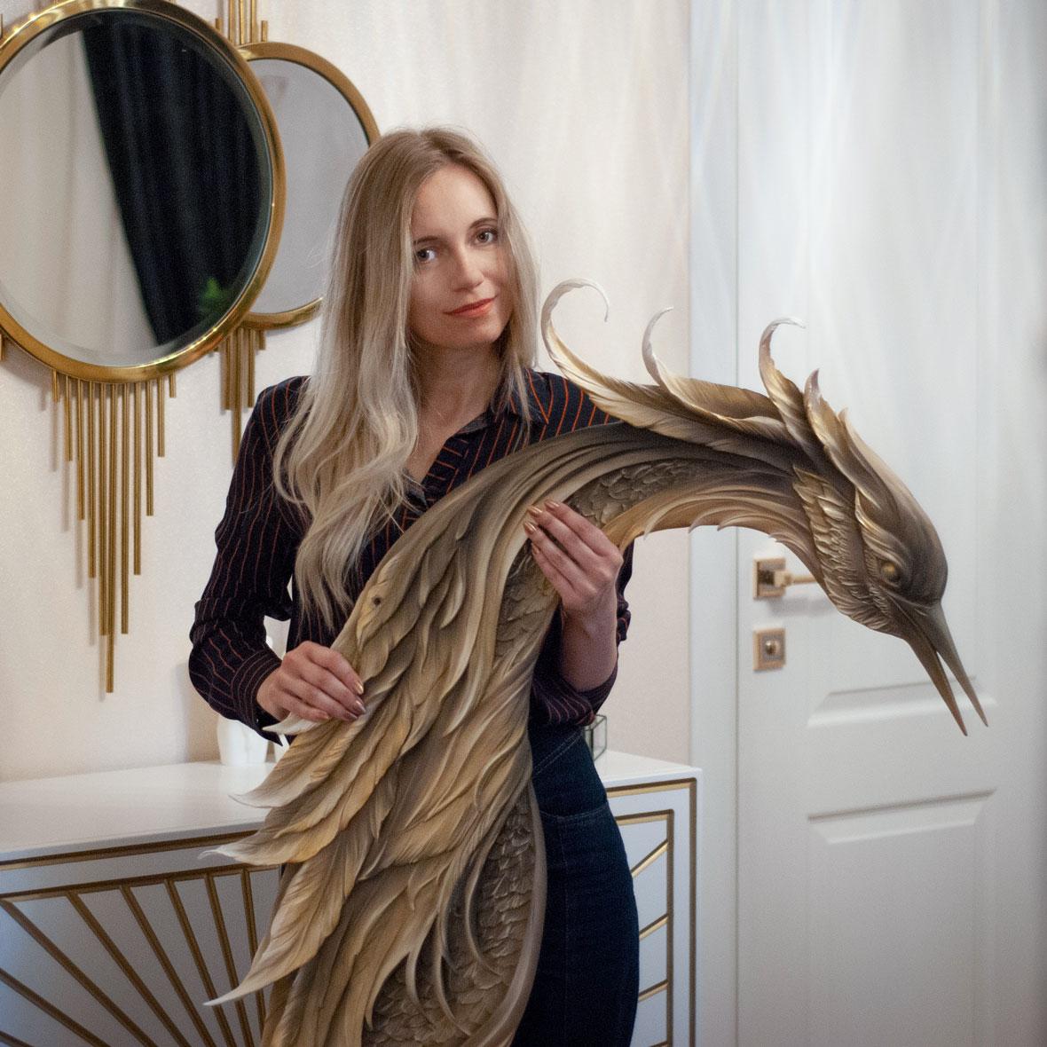 Наталья Хна. Скульптор, мастер барельефов